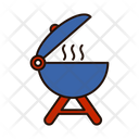 Food Barbecue Pit Barbecue Machine Icon