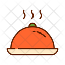 Food Cloche Salver Icon