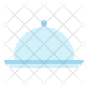 Food Plate Cover Icon