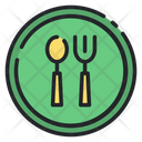 Food Spoon Fork Icon