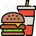 Food Burger Drink Icon