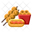 Food Street Truck Icon