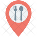Food Place Map Icon