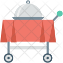 Food Service Trolley Icon