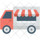 Food Stand Truck Icon