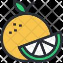 Food Fruit Half Icon