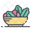 Food Vegetables Vegetarian Icon