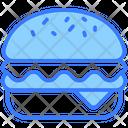 Food Hamburger Cheeseburger Icon