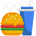 Food Drink Burger Icon