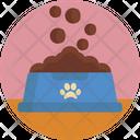 Food Paws Bowl Icon