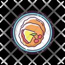 Food Crepe Pancake Icon