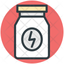 Food Supplements Pills Icon