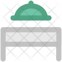 Food Serving Trolley Icon