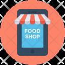 Food Shop Ecommerce Icon