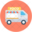 Food Stand Vending Icon
