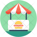 Food Stand Burger Icon