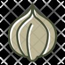 Food Garlic Vegetable Icon