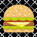 Food Hamburger Fast Icon