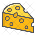 Food Chesse Diary Icon