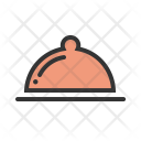 Food Tray Service Icon
