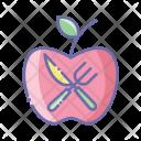Food Apple Fruit Icon