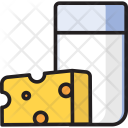 Dairy Food Cheese Milk Icon
