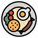 Fried Rice Food Icon