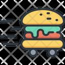 Food Burger Delivery Icon