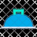 Cloche Waiter Dish Icon