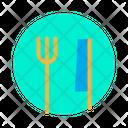 Fork Knife Platem Icon