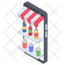 Food App Online Food M Commerce Icon