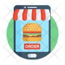 Food App Mobile App Smartphone App Icon