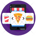 Food App Pizza App Online Pizza Order Icon