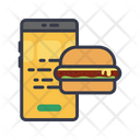 Food Appication Delivery Shipping Icon