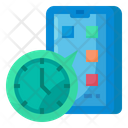 Food Application Application Clock Icon