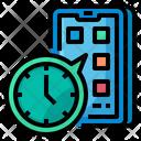 Food Application Application Clock Icon