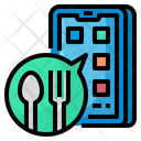 Food Application Call Order Icon