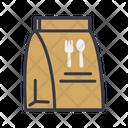 Food Bag Paper Bag Bag Icon