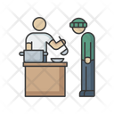 Food Bank Assistance Food Icon