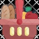 Basket Food Supplies Icon