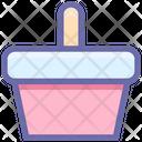 Basket Bucket Food Basket Icon