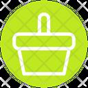 Food Basket Fruit Bucket Bucket Icon