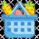 Food Basket Basket Supermarket Icon