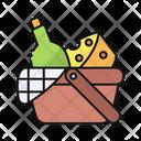 Food Basket Picnic Basket Icon
