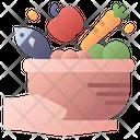 Food Hand Harvest Icon