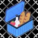 Grocery Basket Food Basket Food Bucket Icon