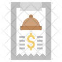 Food Bill Icon