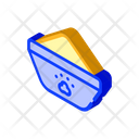 Bowl Feeding Isometric Icon