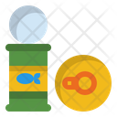Ifood Canned Can Icon