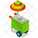 Food Cart Stall Icon